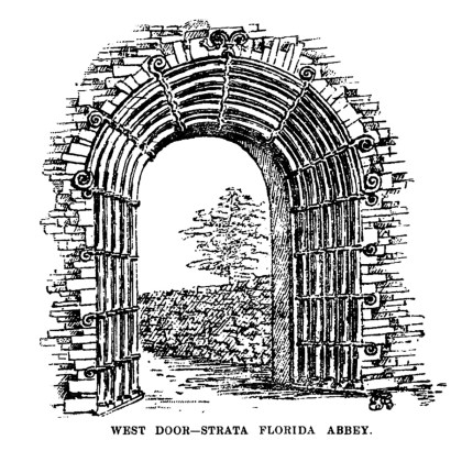 West Door-Strata Florida Abbey