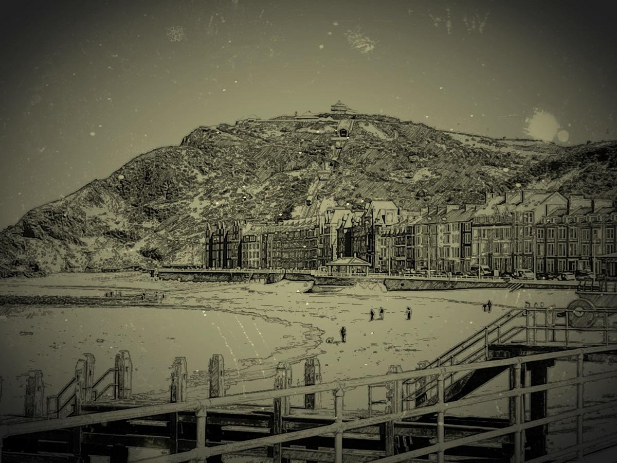 Hanes Aberystwyth, Constitution Hill a Glan Môr Fictoria Ceredigion