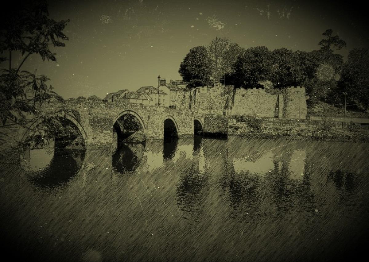 Cardigan History, Castle and bridge Ceredigion