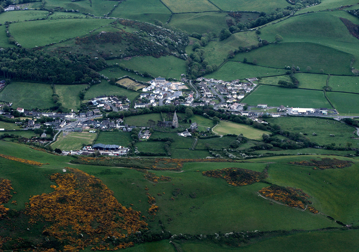 Llanrhystud Village History - Discover the archaeology, antiquities and history of Ceredigion