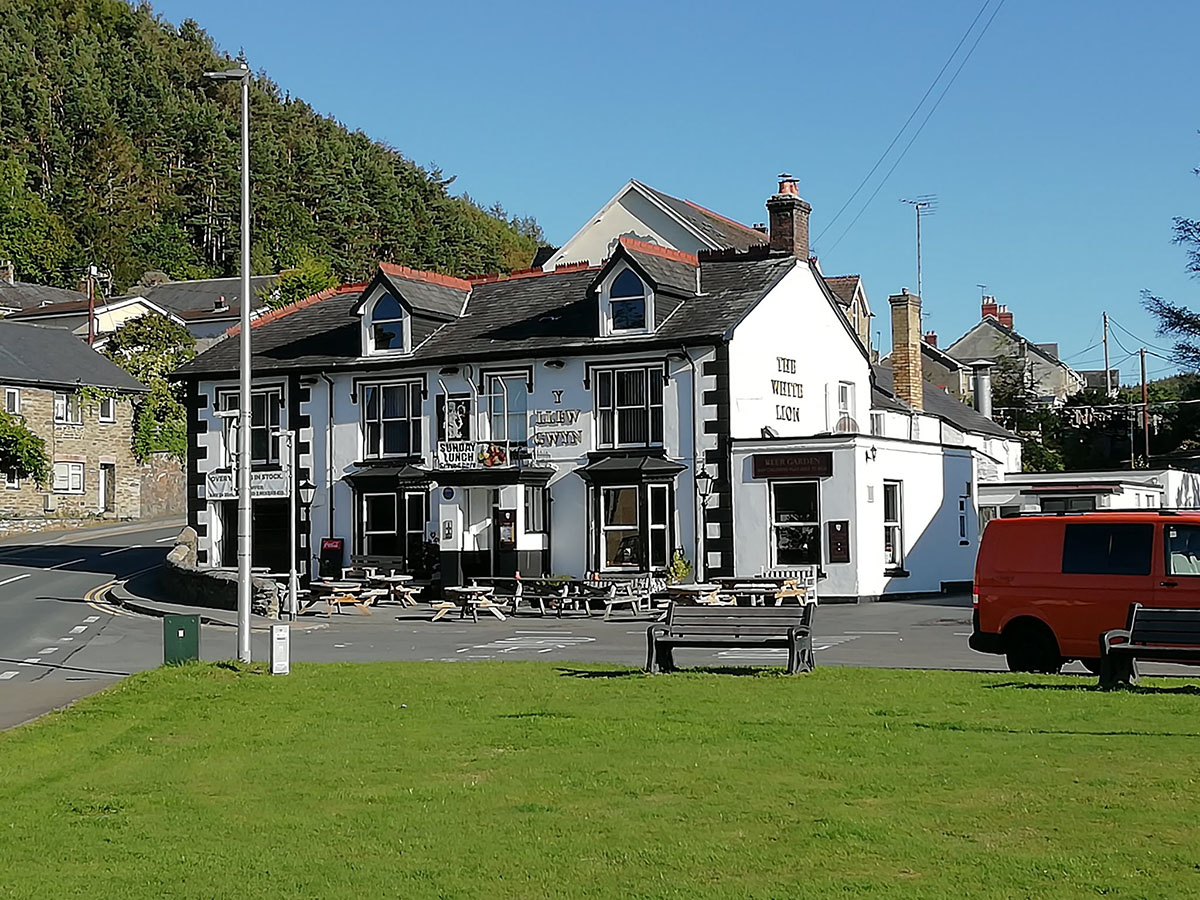 History of the White Lion, Talybont, in the county old county of Cardiganshire