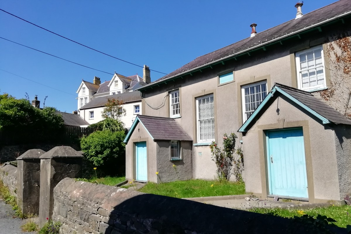 Aberarth, Bethel Methodist Chapel, built in 1790, Ceredigion history