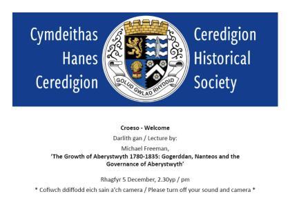 The Growth of Aberystwyth 1780-1835 - Gogerddan, Nanteos and the Governance of Aberystwyth