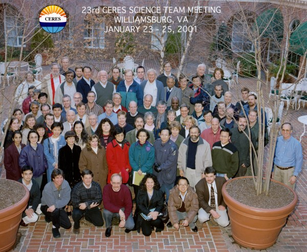 23rd CERES-I Science Team Meeting – January 2001 – CERES