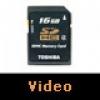 Toshiba HighSpeed SDHC Kart Video