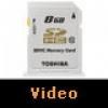 Toshiba 8 GB Professional SDHC Kart Video