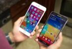 iPhone 6 Plus ile Galaxy Note 3'ü Karşılaştırdık