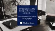 Windows Server 2003 Desteği Sona Erdi!