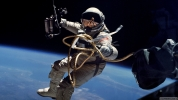 Astronotun Çektiği İlginç Fotoğraf!