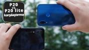 Huawei P20 Lite vs Huawei P20 karşılaştırma