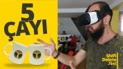 Sanal gerçeklik gözlüğü hediyeli 5 Çayı #186