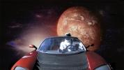 Tesla Roadster Mars yörüngesini geçti!