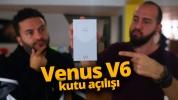 Vestel Venus V6 kutu açılışı