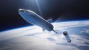 Mars'a gidecek SpaceX Starship prototipi görüntülendi