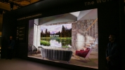 Samsung'dan 219 inçlik modüler Micro LED televizyon!