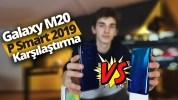 Galaxy M20 ve P Smart 2019 karşı karşıya!