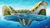 Küresel ısınma tehlikesine karşı yüzen şehirler!