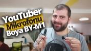 Uygun fiyatlı YouTuber mikrofonu Boya M1 inceleme