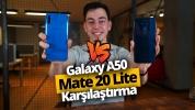 Galaxy A50 ve Mate 20 lite karşılaştırma