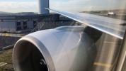 THY uçağı kalkış öncesinde direğe çarptı!