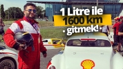 1 litre ile 1.600 km gidilir mi? (vLog)