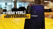 3 kameralı yerli telefon Casper VIA F3 inceleme
