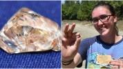 'Elmas nasıl bulunur?' videosu izlerken elmas buldu!