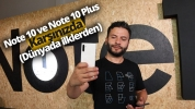 Galaxy Note 10 ve Note 10 Plus ön inceleme