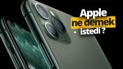 Apple yeni iPhone'lar ile ne demek istedi?