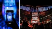 Samsung dikey video için ilk konseri verdi