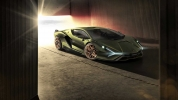 Hibrit Lamborghini Sian tanıtıldı!