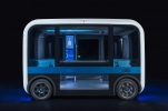 3D baskı ile üretilen sürücüsüz minibüs