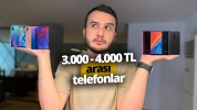3000 – 4000 TL arası en iyi akıllı telefonlar – Ekim