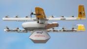 Drone ile kargo teslimatları başladı