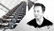 Elon Musk, Starlink ile bir tweet attı