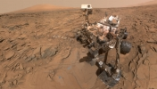 NASA Mars üzerinde kurumuş vaha keşfetti
