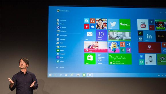Windows 10'a Büyük İlgi