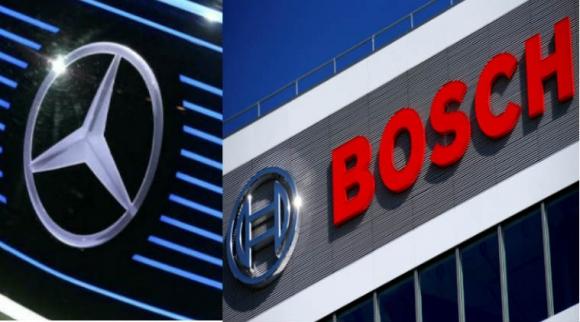 Mercedes ve Bosch, sürücüsüz taksilerini test edecek!