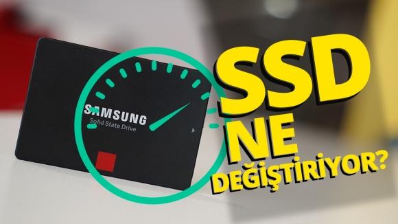 SSD'nin günlük hayattaki avantajları!