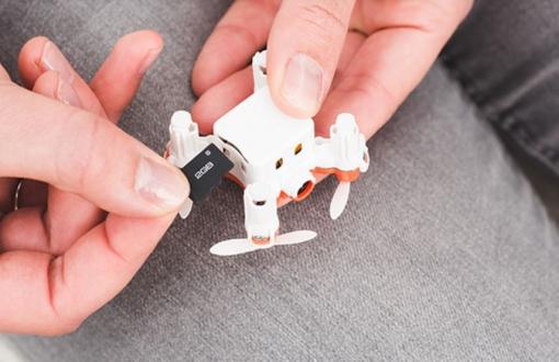 Dünyanın en küçük HD kameralı drone modeli!