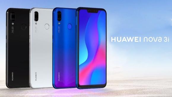 Dört kameralı Huawei Nova 3i tanıtıldı!