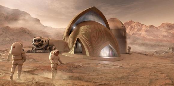 Mars yaşam alanları görenleri büyüledi!
