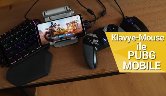Klavye mouse ile PUBG Mobile oynadık!