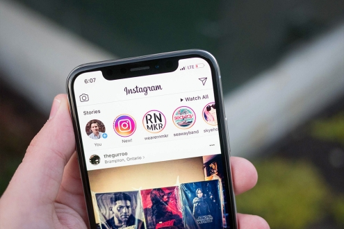 Instagram hikayede görüntüleme sırası ne ifade eder?