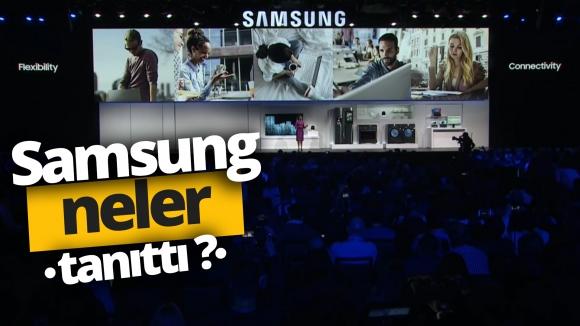 Samsung CES 2019'da neler tanıttı? (VİDEO)