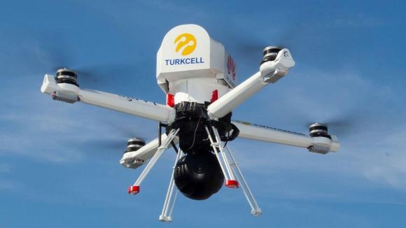 Turkcell'den 5G destekli yerli drone!