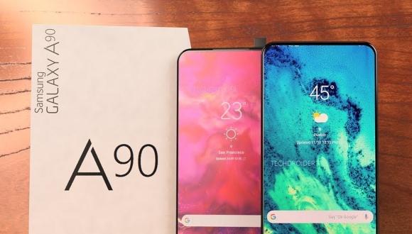 Samsung, Galaxy A90 tasarımı ile bir ilke imza atacak!