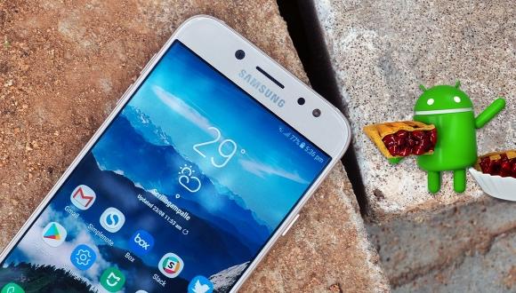 Galaxy J7 Pro Android Pie güncellemesi Türkiye'de!
