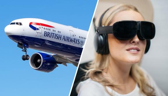 Uçaklarda sanal gerçeklik dönemi başlıyor