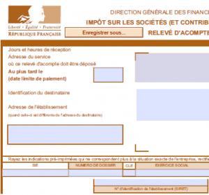 imprime acompte is 300x281 IMPRIME ACOMPTE IMPOT SUR LES SOCIETES